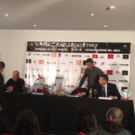 Comienza la conferencia de prensa de Antonio Pacheco https://t.co/v3rULSbOzi