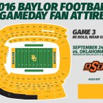 What to wear, Game 3: Be bold, wear gold to #SicOSU Sept. 24. https://t.co/PJ9CLWvSXH