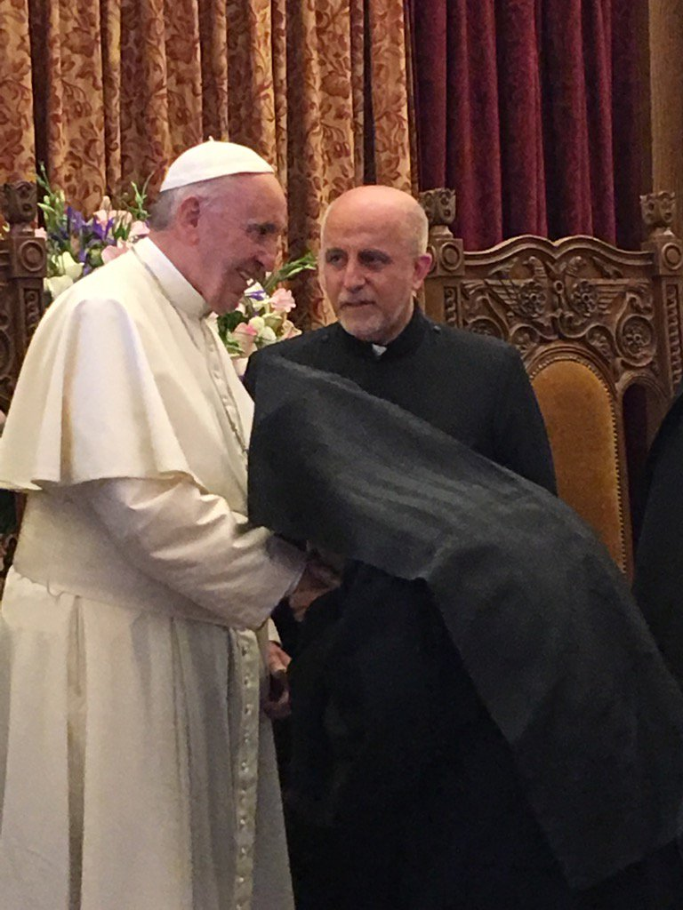 #PopeInArmenia