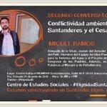 Mañana continuamos el ciclo de conferencias Geografía, conflictos socioambientales y territorio con @migueramos https://t.co/3x4vtuOBDd