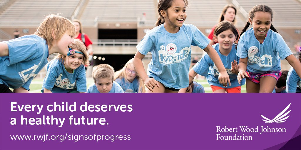 When you give kids more chances to be physically active we see declining childhood obesity rates. https://t.co/sVYK2XAUPW