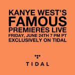 The livestream of @kanyewests FAMOUS premiere is at 7pm PT. https://t.co/7th0RlStdG https://t.co/OuwTDmR6OZ