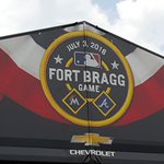 Theres still a little work left, but @FtBraggNC is nearly ready for the July 3 @mlb game btw @Braves & @Marlins https://t.co/xfRuI809En