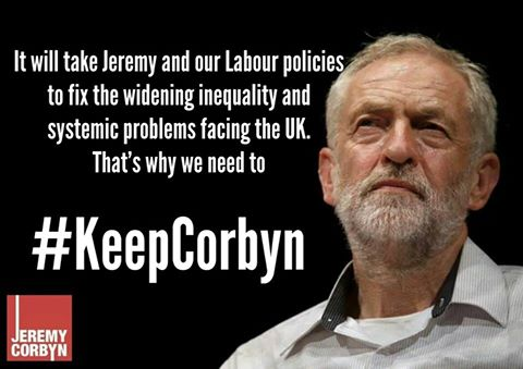 Support the Labour movement & continue to fight against Tories, austerity & interests of finance capital #KeepCorbyn https://t.co/CebE10jrUM