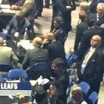 Thats a blurry Chiarelli working the phone. #horribledraftpics https://t.co/YIGOfl8fwl