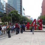 Integrantes de la CNTE en Reforma y Bucareli rumbo al zócalo. @lasillarota https://t.co/e0N8mIHGOm