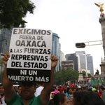 """Porfis AVÍSENLE a @EPN """"Marchará la #CNTE por un """"verdadero diálogo"""" con el gobierno. Se concentran en el #Angel → https://t.co/dtlUxPW69i"""""""