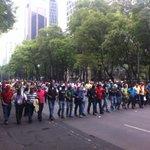 Vanguardia de la marcha #CNTE x la defensa de la educación pública @julioastillero #NochixtlánVive @Cheri_EPO55 https://t.co/27OXvZB1Z0