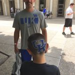 Dylan and his father are checked in for Father/Son 3 camp. This could be the best haircut of the summer!! https://t.co/7H1rSMYCd9