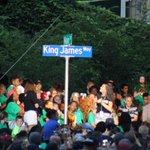 LeBron James now has his own street in Akron https://t.co/nU1DOeUMYh https://t.co/rEerh5UFE3