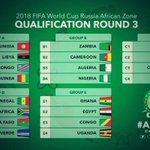 """""""@adewryght: Nigeria faces Zambia, Cameroun & Algeria in Group C (Africa) Russia 2018 World Cup qualifier #NEWS 