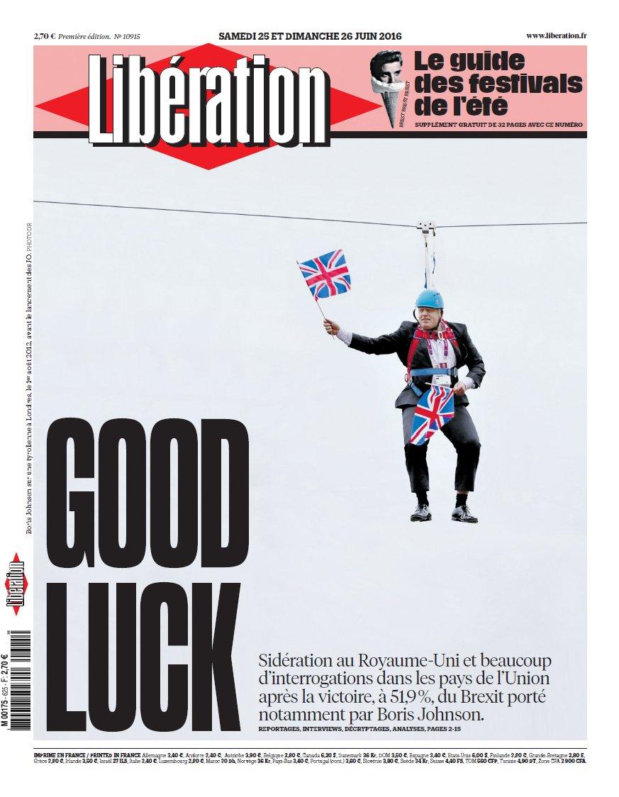 Direct brexit les bourses europ ennes plongent apr s la - Front de liberation des nains de jardins ...