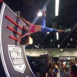 How Ninjas do #vidcon2016. #AmericanNinjaWarrior https://t.co/Kz90WZ2RwF