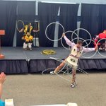 An amazing display of traditional hoop dancing @NorQuests National Aboriginal Week celebrations! #ableg #yegdt https://t.co/TBWTKi3SNY