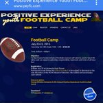 Great Youth Football Camp in the Morgantown,Wv Area! Signed your camper up! https://t.co/vnEDK44dEQ