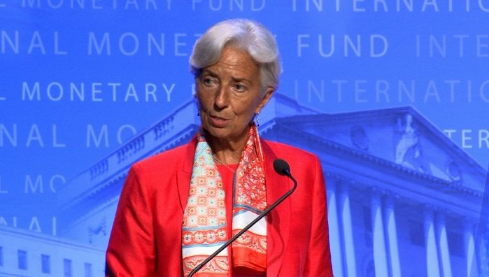 Watch: Lagarde: IMF will look to dampen market volatility after