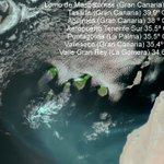 40º en el sur de Gran Canaria #Calima #grancanaria @AEMET_Canarias @meteoGCcom @ACANMET_  Imagen Modis hoy https://t.co/mNn8vvv4zN