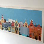 The University of #Manchester Skyline Original #Painting #Art #design #architecture #Urban #commissions ???? https://t.co/olftqALmeJ