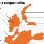 [Infografía] Así estarán distribuidas las zonas donde se concentrarán las Farc. https://t.co/w3hPS3V8m5 https://t.co/rjc05knjz7