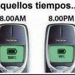 #YoSoyChavoRucoPorque me tocó usar esos celulares que les duraba un chingo la batería https://t.co/aoifhQXbyY
