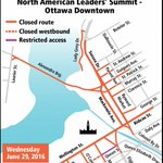 ICYMI: North American Leaders Summit June 29 in dt core. Road closures/delays https://t.co/gGwpaQq0RG #NALS2016 https://t.co/X9kBBhHdv1
