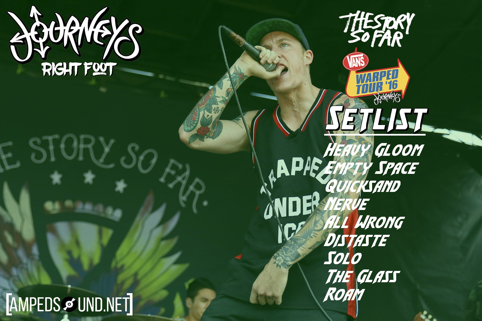 Yo Check #TheStorySoFar's #WarpedTour #Setlist #AmpedWarped #TSSF @thestorysofarca https://t.co/3vsRYMBwjv