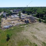 Steel is being erected at Family Health Center of Kalamazoos south clinic! #viewfromabove https://t.co/Hgs3ZvMW40