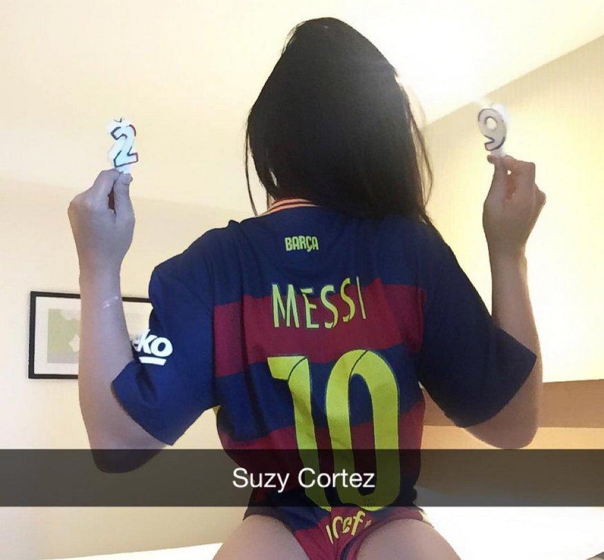 RT @PublimetroMX: ¡Tremendo regalo! #MissBumBum felicita a Lionel Messi con candentes fotos #Messi29 https://t.co/zF7DNTv40o https://t.co/n…