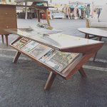 See you @smorgasburgLA this Sunday 6/26/16! Come see our #solidwalnut #magazinecoffeetable and enjoy great food! #LA https://t.co/tT6sq6KkVn