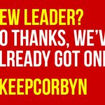Standing with Jeremy Corbyn, against the Tories. #KeepCorbyn https://t.co/pfyx9l4GpC