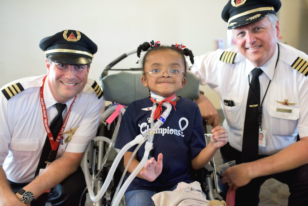 Children's Miracle Network Hospitals Champions inspire @Delta people to giveback.