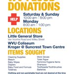 Happening all weekend and Monday. West Virginia needs you! #wvflooding #WVU https://t.co/TzoOrvDzW1