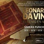 Descubra al genio de La Última Cena, el Hombre de Vitruvio y más obras maestras en Leonardo, el genio de Milán. https://t.co/zyhxfUTsYS