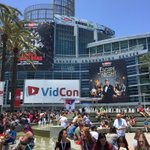 At @VidCon about to link up with @Unreelme. #vidcon https://t.co/8zpBUjes4x