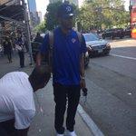 .@drose has arrived in NYC! #Knicks https://t.co/ajl8RPsZjE