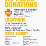 Join us in helping those impacted by the horrible flooding in Southern WV #hailWV #wvflooding #WVU https://t.co/7X41ds2HLf