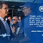 O @PPopular o único que pode evitar que entre Podemos no Goberno. #Feijoo #EspañaAFavor https://t.co/Ksa9Sk8TyB