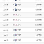 Oh hey, @Indians...your schedule looks familiar 🤔 https://t.co/GaqIBIRCEJ