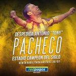 ⚽ Habilitado el canje y venta de entradas para el partido despedida de Tony Pacheco el 30 de julio. https://t.co/F0erYzN7vo