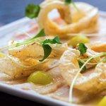 Enjoy our soft pork chicharrón with crisp crackling, apple purée & toasted #sourdough. ???? #Tapas #Manchester https://t.co/CwVXPFafdW