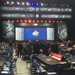 NHL Draft floor. Just about to find out if EDM takes Tkachuk at #4. Live coverage for 5 hours on 630 CHED. https://t.co/gjAs2WMOy5