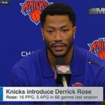 """I feel like something special is going to happen."" - Derrick Rose on his upcoming season with the Knicks. https://t.co/DcljLD1FI2"