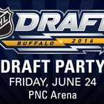 Not sure where to watch the #NHLDraft tonight? The #CanesDraft Party is a FREE event! Info: https://t.co/5dhkMTxZvV https://t.co/A1417Dj7aT