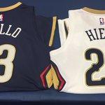 Jersey numbers confirmed!  #Pelicans https://t.co/GDcJg1HAoI