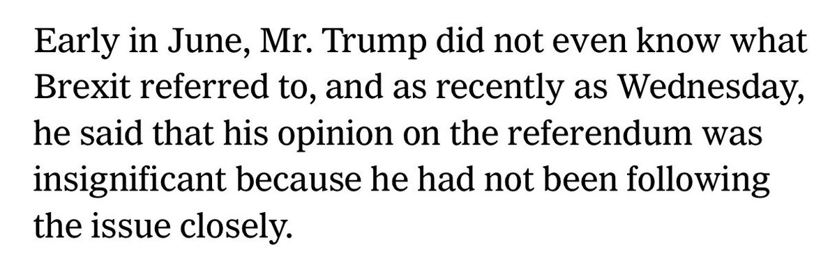 When reporting Trump's wisdom on Brexit, be sure to recall this (per @AshleyRParker in the NYT) https://t.co/sdDY7o7bvx