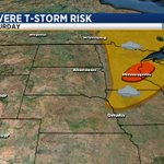 Heading to MPLS on Saturday? Enhanced risk for severe storms over Twin Cities... #sdwx #mnwx https://t.co/9CGP7hh0pL