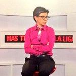 También nos acompaña la Senadora @CLOPEZanalista hablando de fútbol con carácter y personalidad ???? Canal 502/1502HD https://t.co/ALDextZxZ6