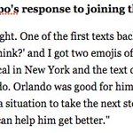 """Tom Crean on Victor Oladipo learning hed join OKC: """"I text him What do you think? and I got two emojis of rings"""" https://t.co/3oRgVGtljs"""