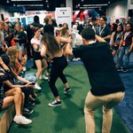 People gettin wild at the @vine booth! ???????????? #vidcon2016 https://t.co/ZSjZva2v1f