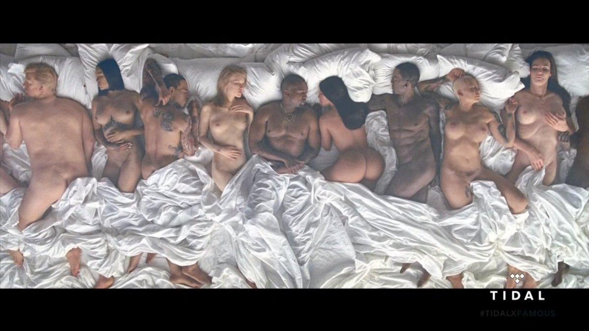 Kanye West Naked Pics